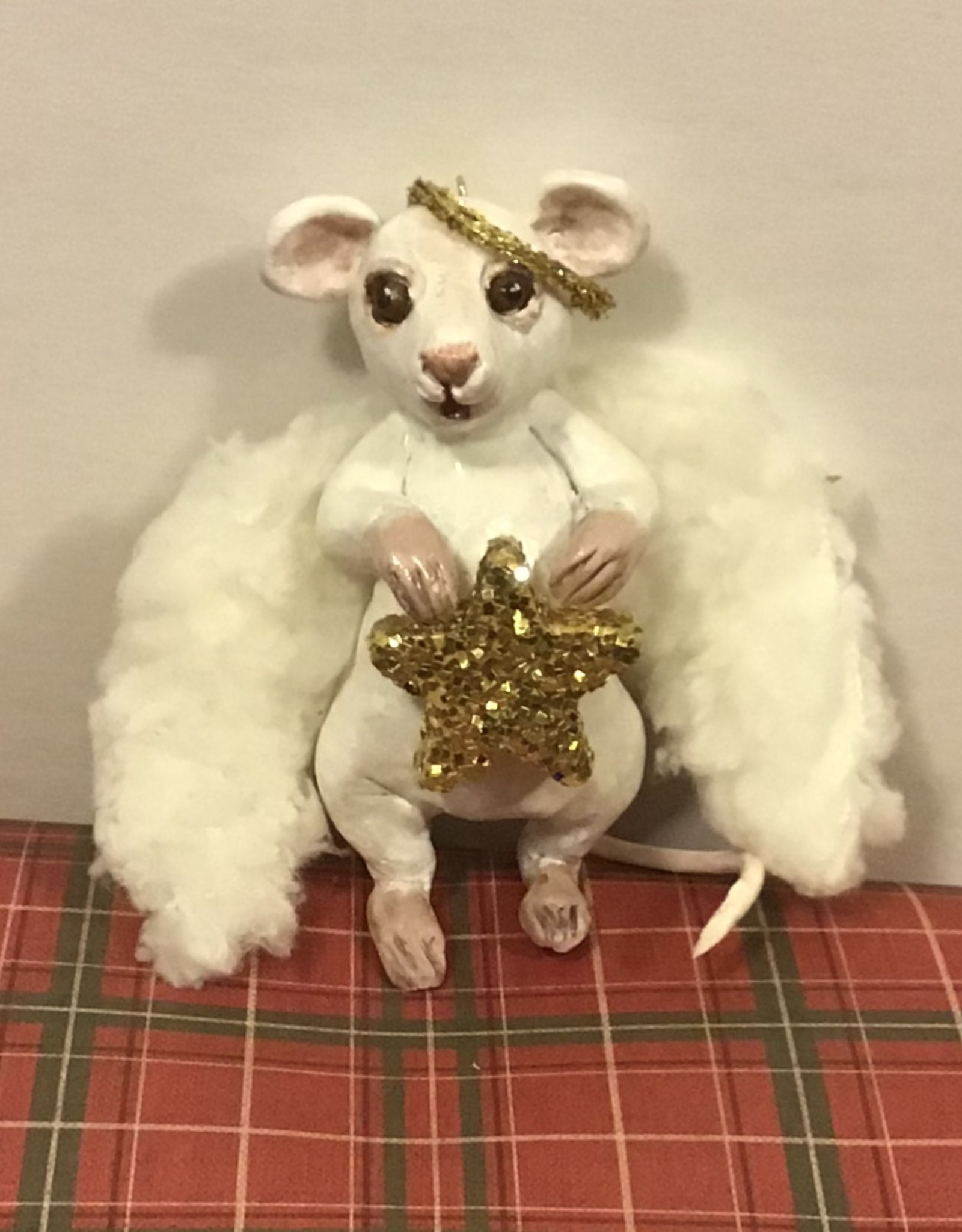 Karen Friedstrom Christmas-Mariah angel mouse