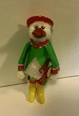 Karen Friedstrom Christmas-Downy duck ornament
