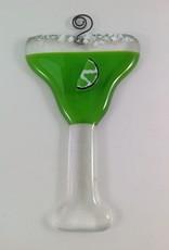 Ann Mackiernan Margarita Fused Glass Ornament