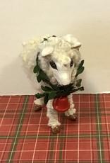 Karen Friedstrom Christmas-Dotty sheep ornament