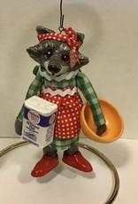 Karen Friedstrom Matilda, Christmas raccoon