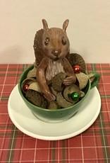 Karen Friedstrom Hickory, Christmas squirrel