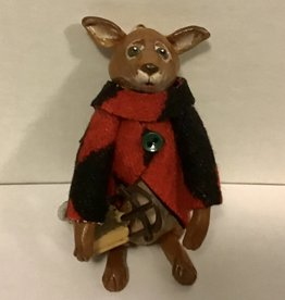 Karen Friedstrom Reggie, fox ornament