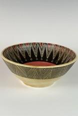 Anshula Tayal Amaati serving bowl kantha triangle design