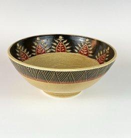 Anshula Tayal Amaati serving bowl kantha border design