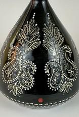 Anshula Tayal Ammati Vase (chikankari embridery)