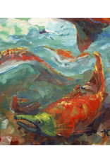 Jennifer Cook-Chrysos Chrysos Designs Artworks, Fine Art Giclee Print, Sockeye, 16 x 16, matted