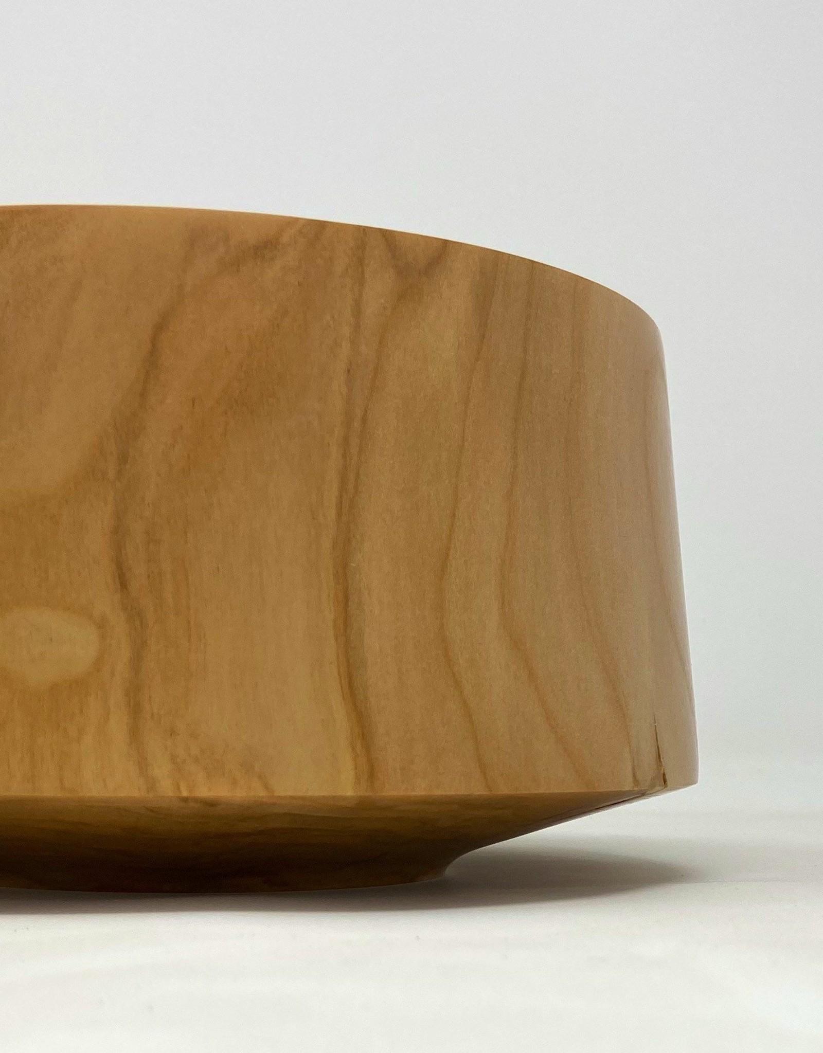 "Mt. Hood Craft - ""High & Tight"" Hand Turned Red Alder Bowl"