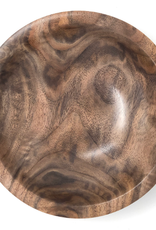 """Mt. Hood Craft - """"Simple Beautifully"""" - Hand Turned Black Walnut Wood Bowl"""