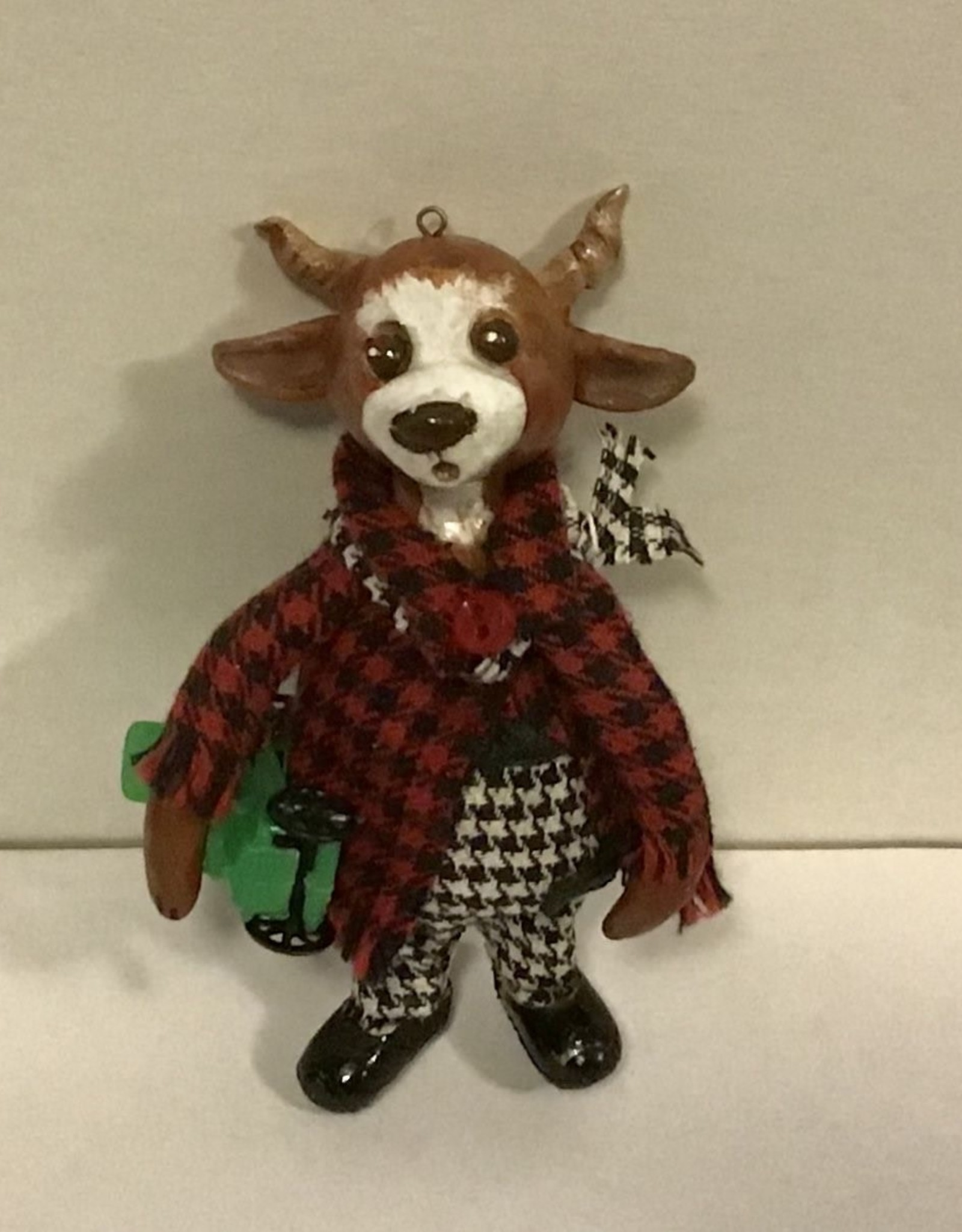Karen Friedstrom Christmas-Griffin ornament