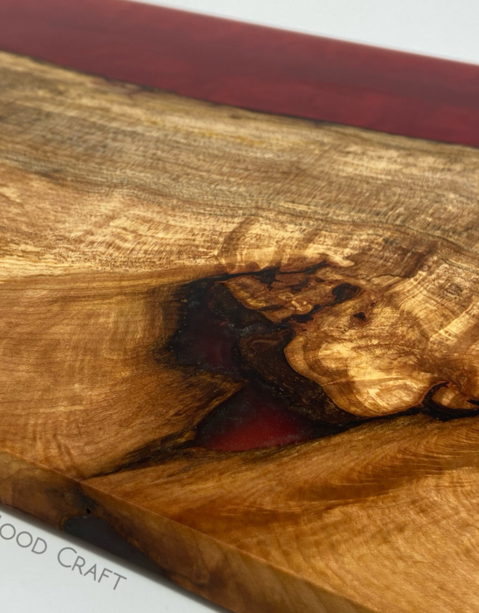 """Mt. Hood Craft - """"Desert Sky"""" - Wood and Resin Serving Tray"""