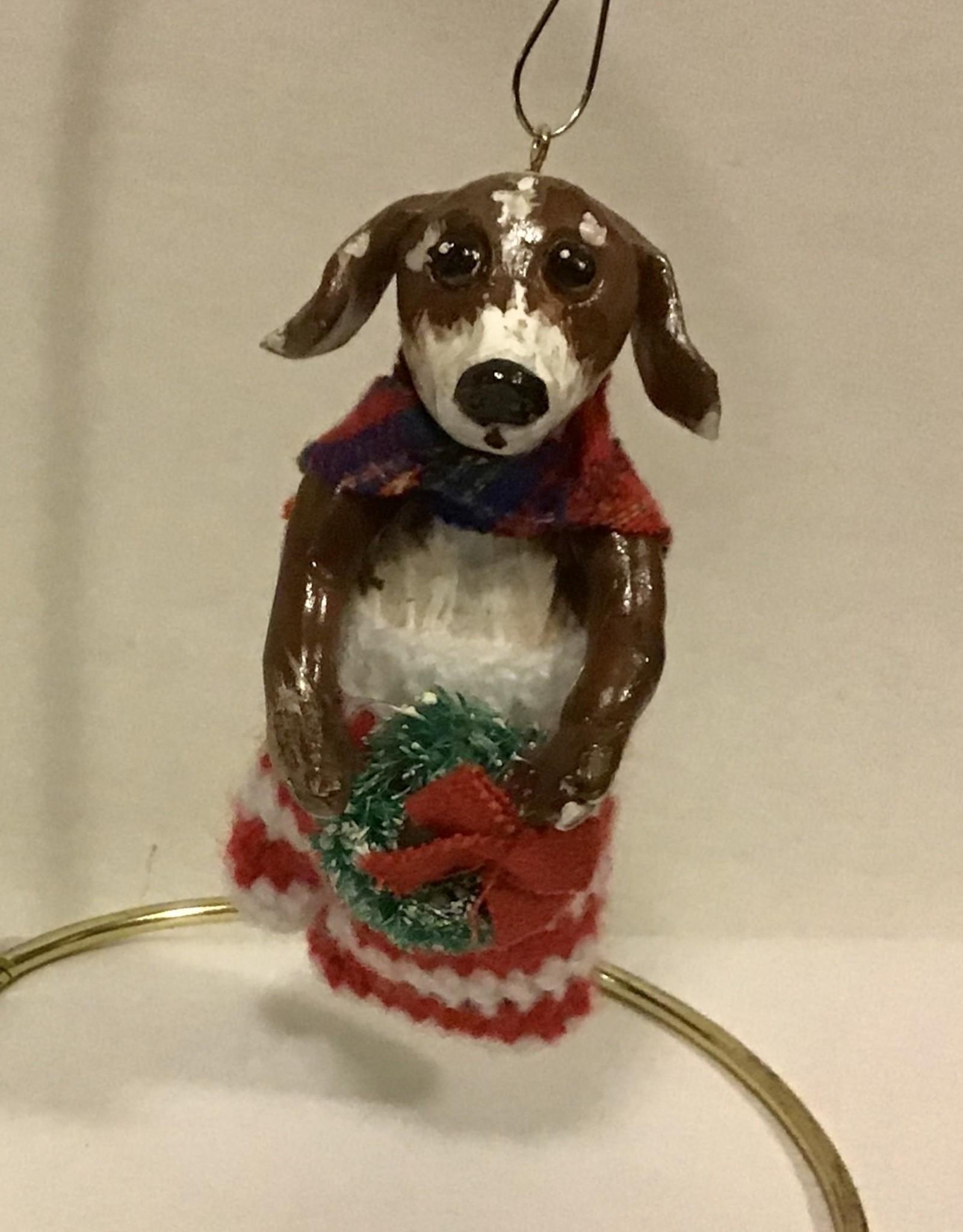 Karen Friedstrom Fergie, dog ornament
