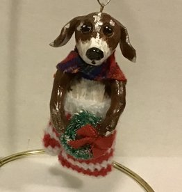 Karen Friedstrom Fergie, dog ornament