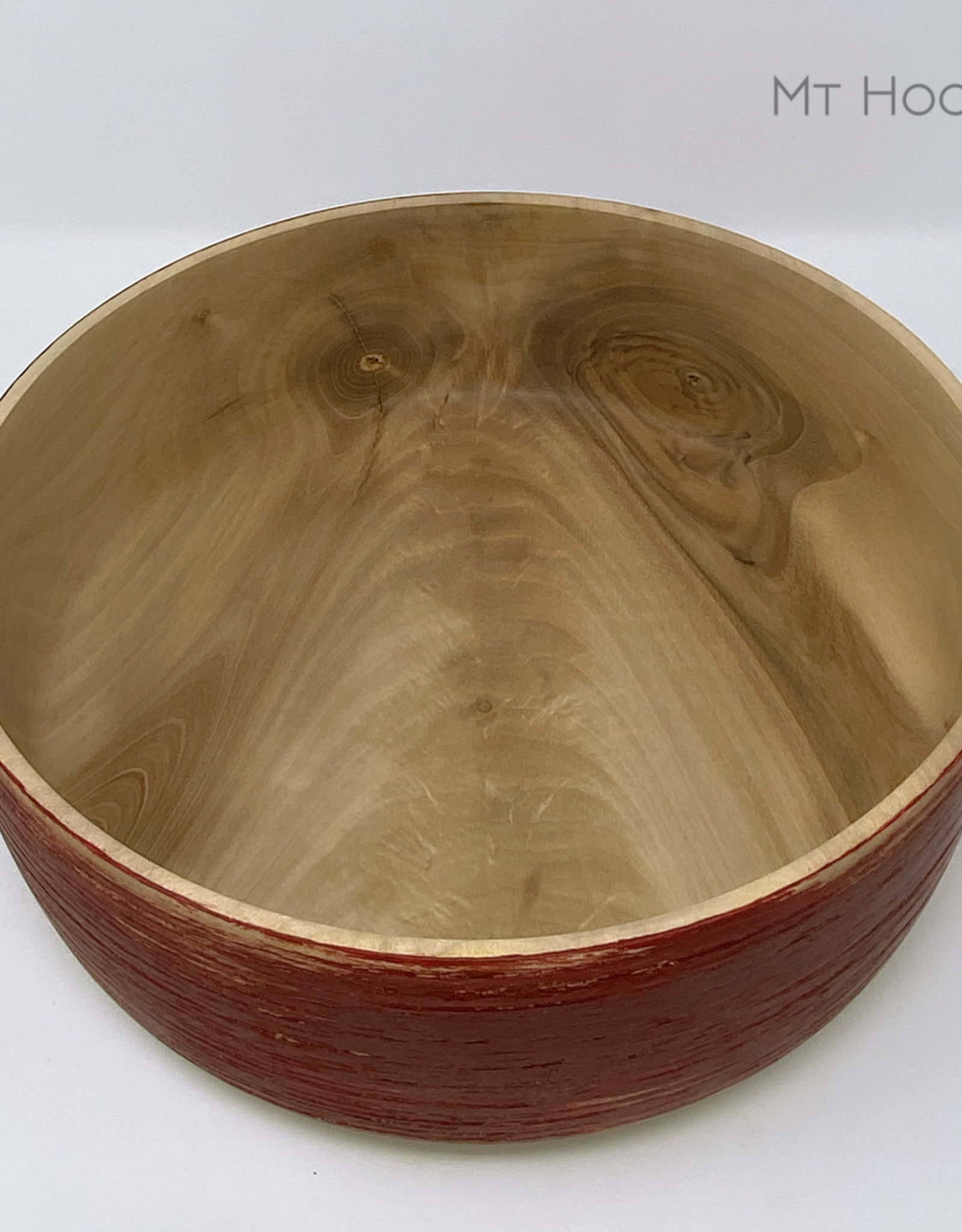 """Ron and Ellie Purvis Mt. Hood Craft - """"Tempest"""" - Hand Turned Maple Bowl"""