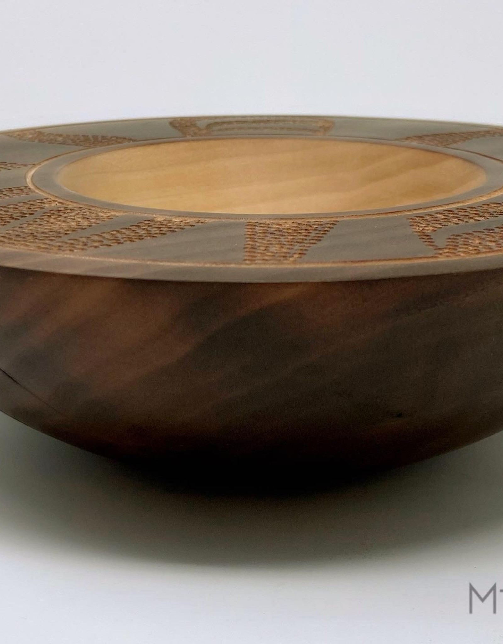 "Mt. Hood Craft - ""Dance"" - Hand Turned Maple Bowl"