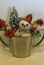 Karen Friedstrom Christmas-Higgins snowman decor