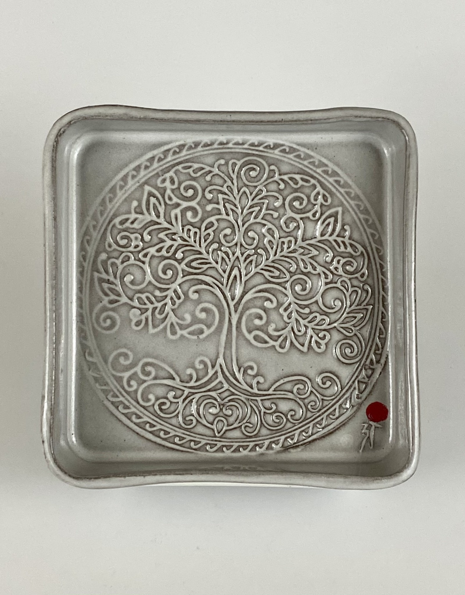 Anshula Tayal Amaati tree of life square plate