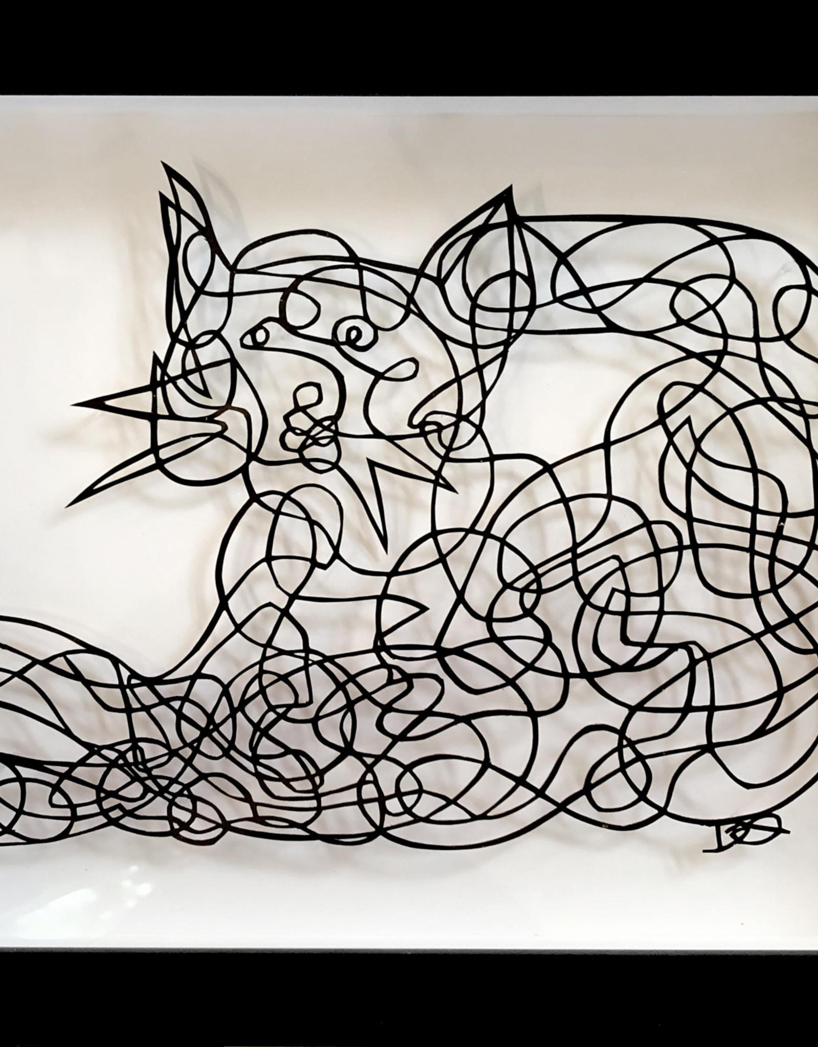 David Friedman Cat One Liner - Papercut