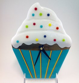 Ann Mackiernan Cupcake Wall Clock