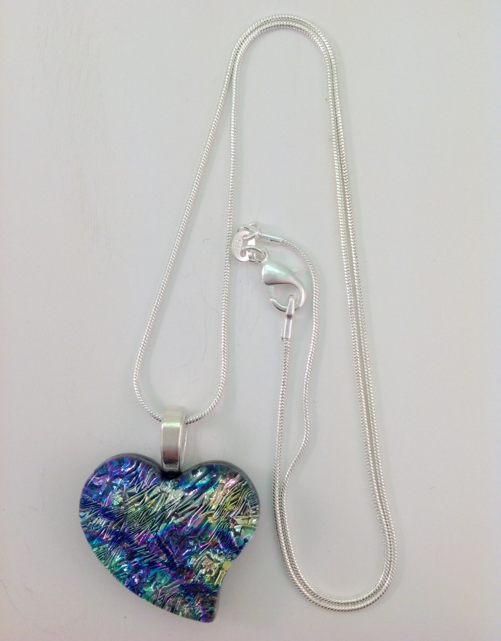 Ann Mackiernan Fused Glass Pendant Medium - M20