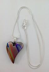 Ann Mackiernan Fused Glass Pendant Medium - M21
