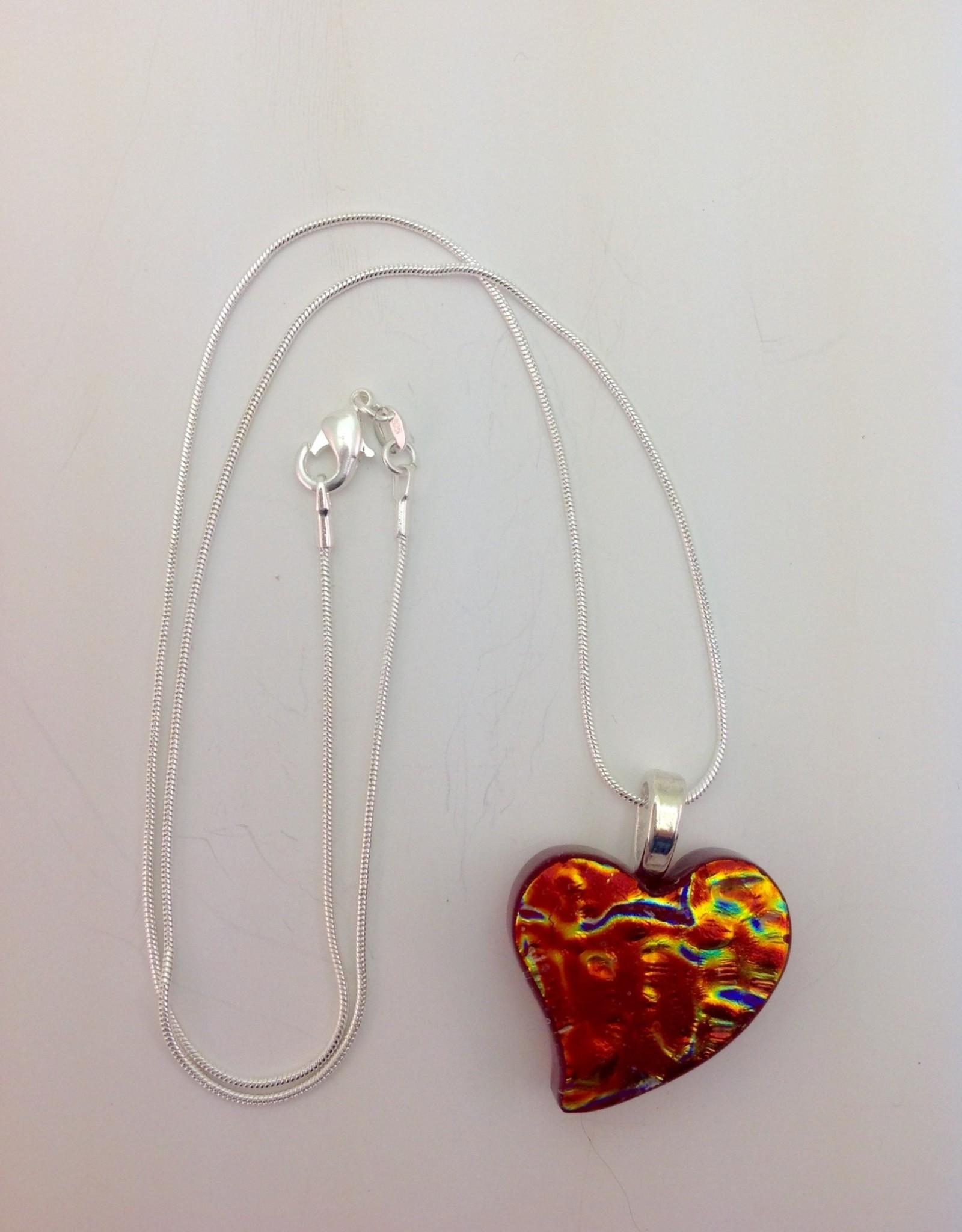 Ann Mackiernan Fused Glass Pendant Medium - M23