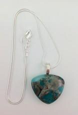 Ann Mackiernan Fused Glass Pendant Medium - M24