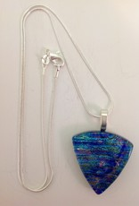 Ann Mackiernan Fused Glass Pendant Medium - 25