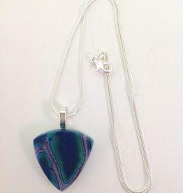 Ann Mackiernan Fused Glass Pendant Medium - M26