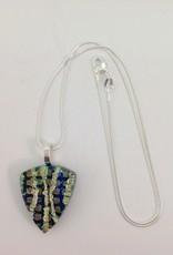 Ann Mackiernan Fused Glass Pendant Medium - M28