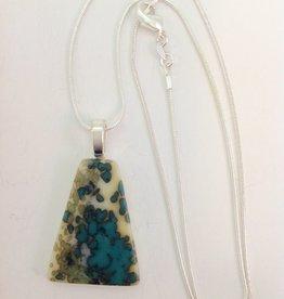 Ann Mackiernan Fused Glass Pendant Medium - M30