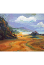 "Jennifer Cook-Chrysos Chrysos Designs Artworks, ""Arch Cape Seascape"",  archival giclee print, 16 x 20"
