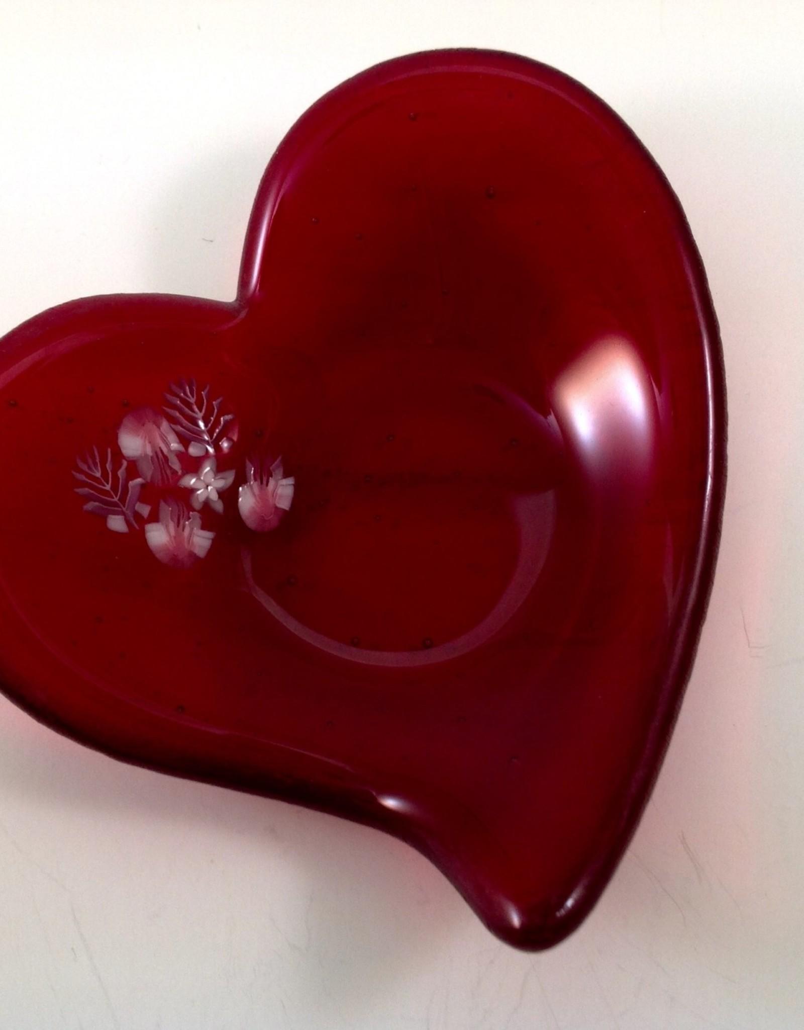Ann Mackiernan Heart Trinket Dish