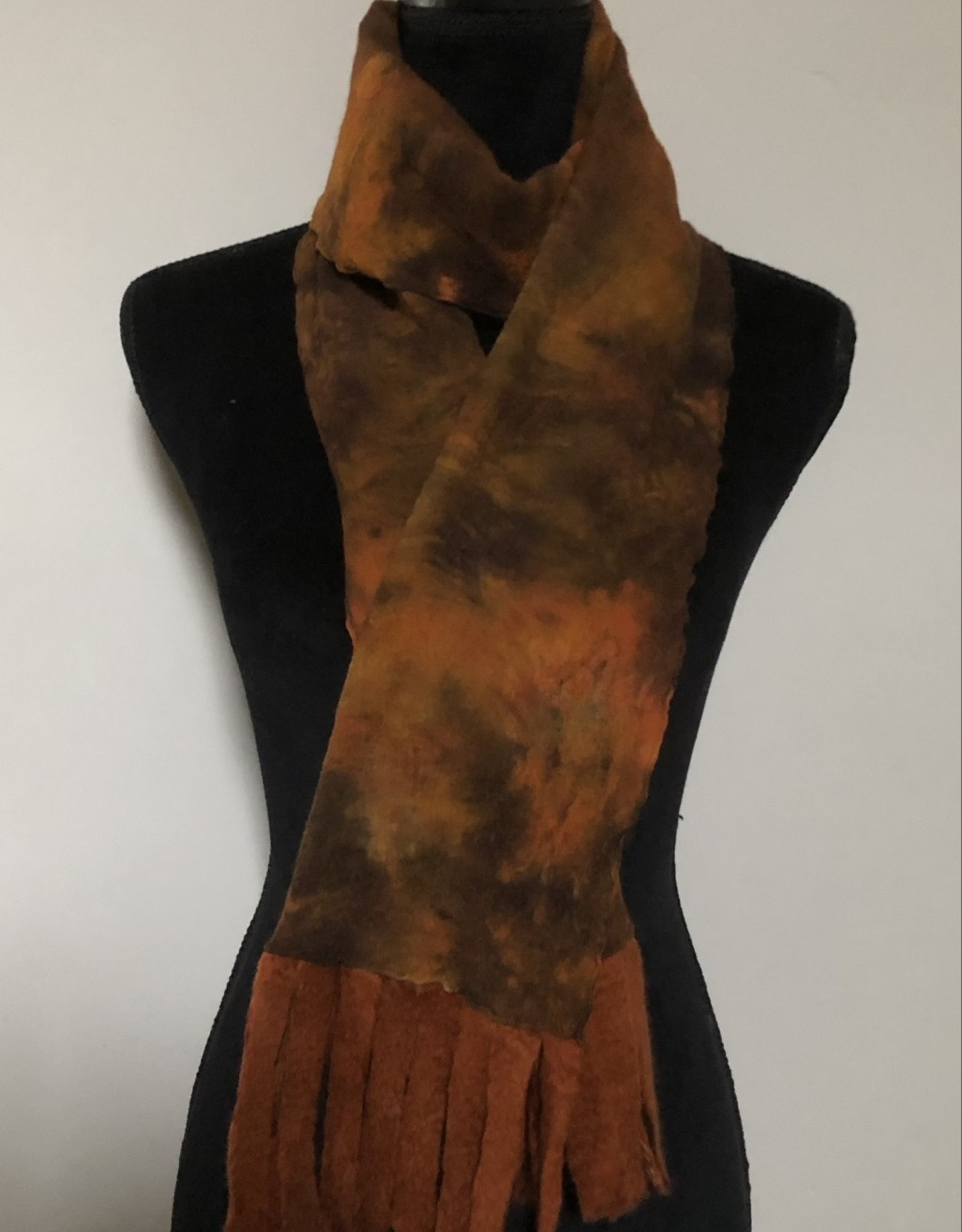 Ammi Brooks Animal Print Nuno Felted Scarf