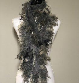 Ammi Brooks Shaggy Fun Locks Felted scarf