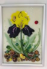 Ann Mackiernan Botanical Wall Art- Bearded Iris