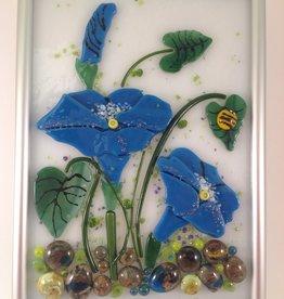 Ann Mackiernan Botanical Wall Art - Morning Glory