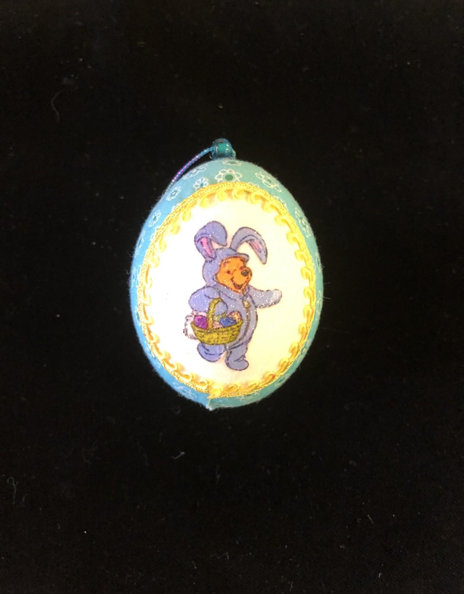 Ammi Brooks Winnie Easter Real Egg Ornament