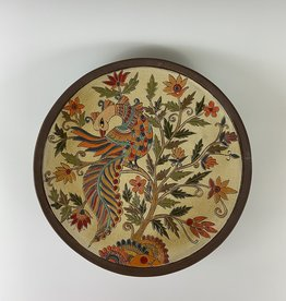 Anshula Tayal Amaati kalamkari bird platter