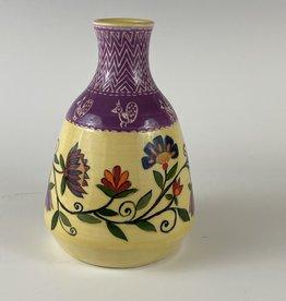 Amaati Paithani small vase