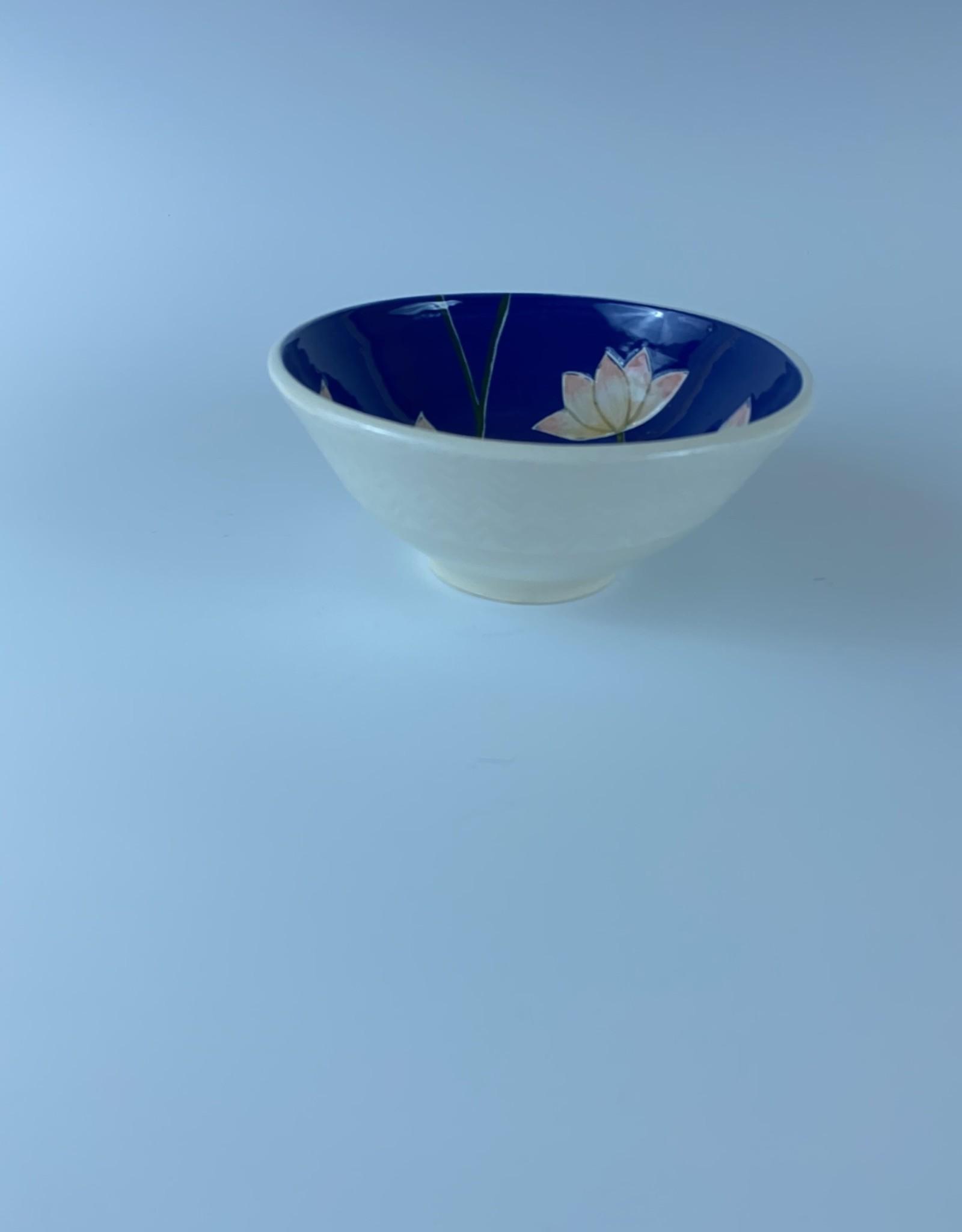 Anshula Tayal Amaati Pichwai Lotus Bowl (Small)