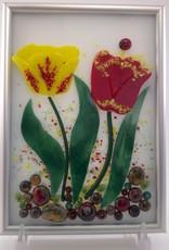 Ann Mackiernan Botanical Wall Art - Tulip