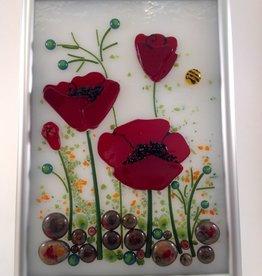 Ann Mackiernan Botanical Wall Art- California Poppy