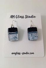 Ann Mackiernan Fused Glass Earrings Large - L18