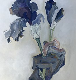 """Michelle Purvis """"Irises For You"""" Print MLP"""