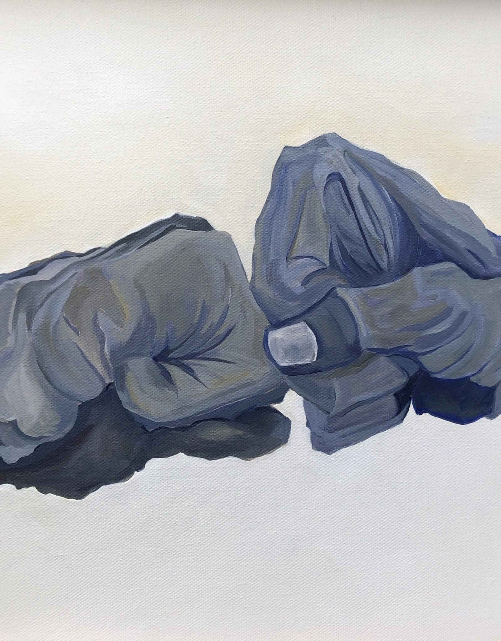 """Michelle Purvis """"21st Century Handshake"""" Print MLP"""
