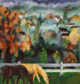 Jennifer Cook-Chrysos Chrysos Designs Fine Art Print, Horses, 16 x 20