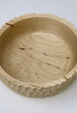 Ron and Ellie Purvis MHC - Facets Maple Bowl