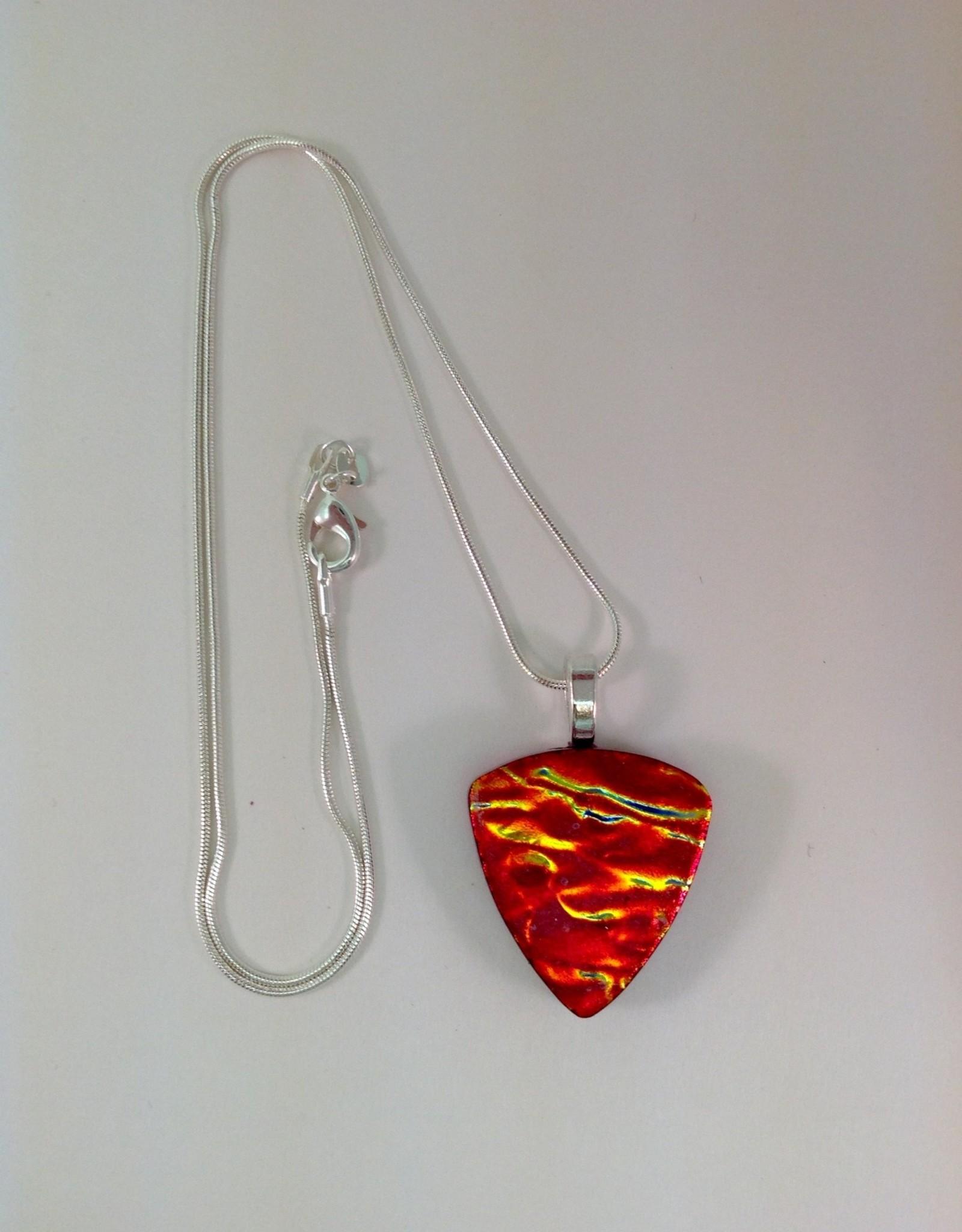 Ann Mackiernan Fused Glass Pendant Medium - M48