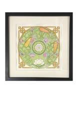 Kelly Casperson Tao Meditation framed original